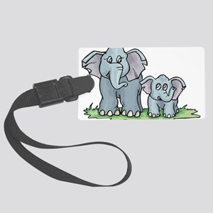 Elephant100 Large Luggage Tag